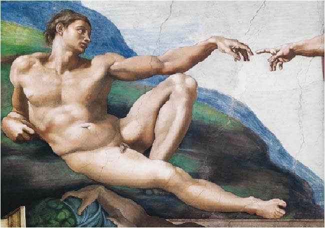 Микеланджело и Рафаэль в Ватикане