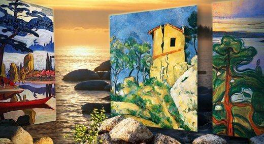 Пейзаж в живописи и фотографии