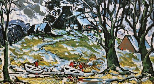 ЛУЧШЕЕ ИЗ ГАЛЕРЕЙ ПЛАНЕТЫ: <br>Чудо канадского пейзажа<br>(монреальская коллекция)