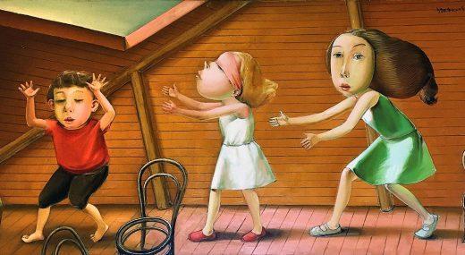 ЛУЧШЕЕ ИЗ ГАЛЕРЕЙ ПЛАНЕТЫ:<br>Музей искусства С.-Петербурга — Осторожно, дети!