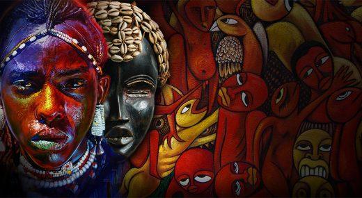 Яркое искусство Африки