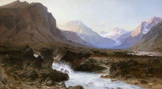 ЛУЧШЕЕ ИЗ ГАЛЕРЕЙ ПЛАНЕТЫ:<br>Романтический пейзаж в Музее Гренобля