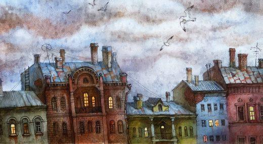 НОВЫЕ ИМЕНА:<br>Анастасия Денисова — Нарисованный город