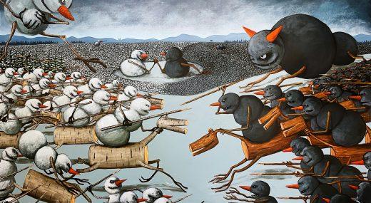 ЛИХИЕ ВСАДНИКИ НИКОЛАЯКОПЕЙКИНА<br>(ГАЛЕРЕЯ 'СВИНОЕ РЫЛО', 2021)