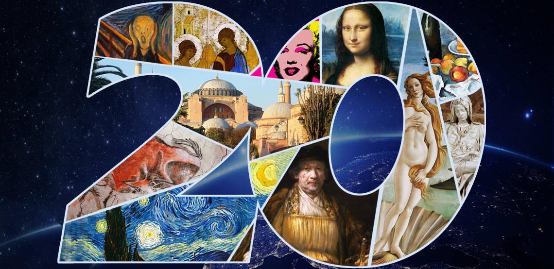 Двадцать величайших произведений искусства