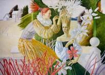 Агата Белая — В саду, 2019 (холст, масло)