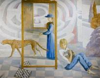 Агата Белая — Отражение, 2006 (холст, масло)