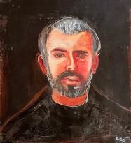 Александр Петров - Автопортрет, 1986 (холст, масло)