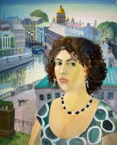 Анна Каждан - Автопортрет, 2008