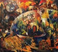 Ашот Хачатрян - От века к веку, 1993 (холст, масло)