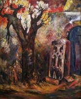 Ашот Хачатрян - Память, 1994 (холст, масло)