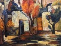 Ашот Хачатрян - Утро, 1994 (холст, масло)