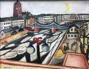 Макс Бекман - Лед на реке, 1923 (холст, масло)