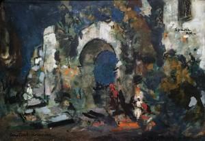 Константин Коровин - испания, 1906 (картон, масло)