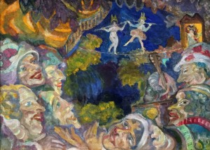 Сергей Судейкин - Гротеск, 1907 (холст, масло)