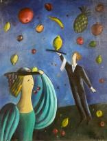 Ирина Ракова — Сон (холст, масло), 1991