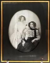 Неизвестный автор — Репродукция с акварельного портрета, 1847-50 (дагеротип) Москва.