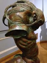Даши Намдаков — Кентавр Он (фрагмент), 2009 (бронза, патина)