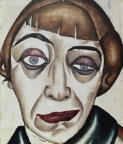 А. Дейнека - Женский портрет, 1920-е (холст, масло)