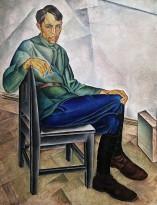 А. Дейнека - Портрет художника К. А. Вялова, 1923