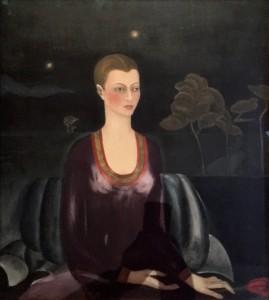 Фрида Кало - Портрет Алисии Галант, 1929 (холст, масло. Музей Долорес Ольмедо)