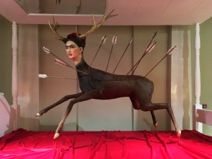 На выставке в музее Карла Фаберже (весна 2019)