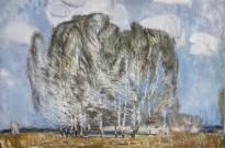 Геннадий Яндыганов — Ветры весенние, 2013 (холст, масло)