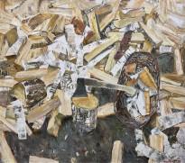 Геннадий Яндыганов — Перекур, 2010 (холст, масло)