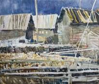 Геннадий Яндыганов — После дождя, 2014 (холст, масло)