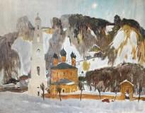 Геннадий Яндыганов — Юрьевец, 2014 (холст, масло)