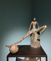 Иван Матвиенко — Девушка с мячом, 2020 (бронза)