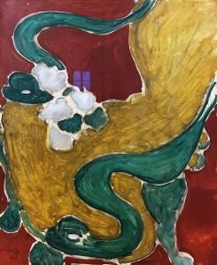 Анри Матисс - Кресло в стиле рококо, 1946 (Музей Матисса в Ницце, холст, масло)