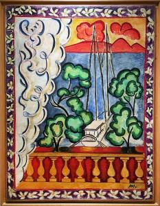 Анри Матисс - Таити I, 1935 (Музей Матисса в Ницце, холст, масло)