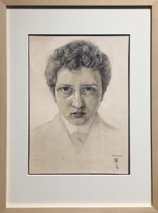 Максимилан Клевер - Автопортрет, 1907