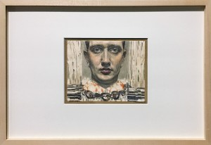 Максимилан Клевер - Автопортрет, 1916