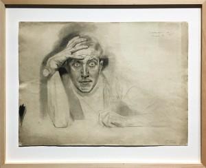 Максимилан Клевер - Автопортрет, 1917