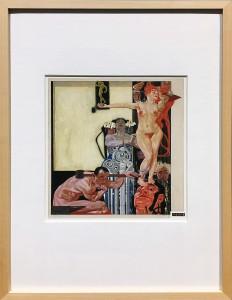 Максимилан Клевер - Труд, Процветание, Искусство, 1919 (гуашь)