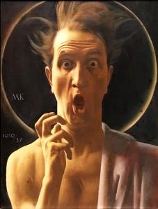 Максимилан Клевер - Фанатик (автопортрет), 1919-37 (холст, масло)
