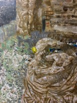 Максим Моргунов — Осколки Атлантиды, 2007 (холст, акрил) фрагмент