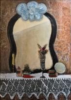 Юрий Васнецов - Зеркало, 1970-73 (холст на картоне, масло)