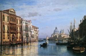 Алексей Боголюбов - Венеция, 1860-70-е (дерево, масло)