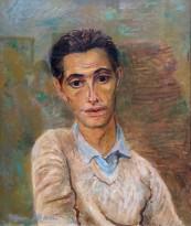 Натан Альтман - Автопортрет, 1932 (доска, масло)