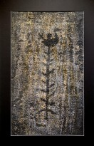 Светлана Георгиевская - Птица на дереве (Новая Залавруга), эстампаж