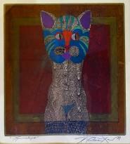 Петр Рейхет — Примавера, 1989 (бумага, ручная печать, роспись)