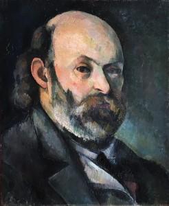 Поль Сезанн - Автопортрет, ок. 1885 (холст, масло - Пушкинский музей МСК)