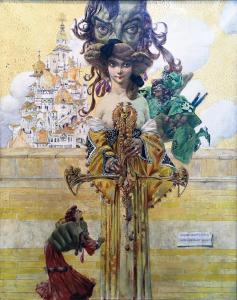 Густав-Адольф Мосса -Снова Саломея, 1905