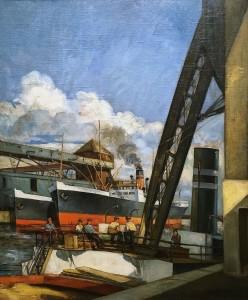 Адриан Хеберт - Монреальский порт, 1925
