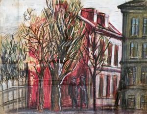 Александр Арефьев - Красный дом, 1962