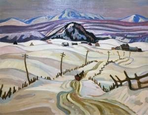Александр И Джексон - Серый день, Лаурентиана, 1931