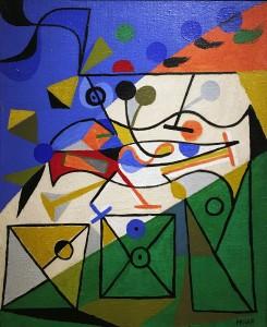 Альфред Пеллан - Смеющийся рот, 1935